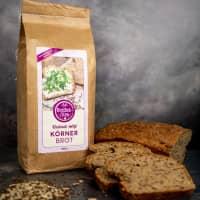 Brotbackmischung «Körnerbrot» | Roggen-Dinkel-Saaten | 1000g