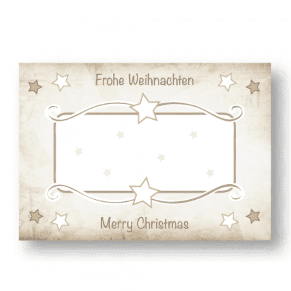 Etiketten «Frohe Weihnachten»