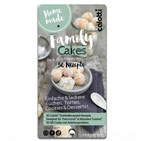Family Cakes | Rezeptfächer |Back dich happy mit Calotti® 30 Kuchen/Torten Rezepte