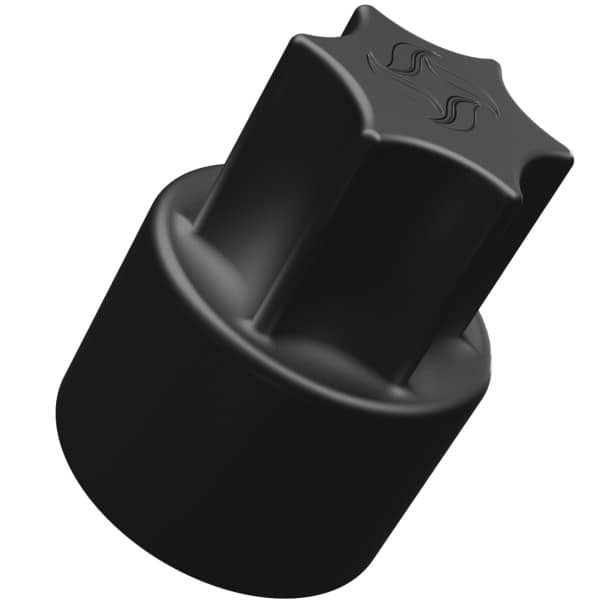 TeigTwister® für TM6/TM5/TM31 | Teiglöser aus Kunststoff - schwarz