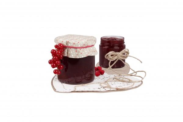 Deckchen-Set für Marmeladengläser Ø 16cm (8 Stück)