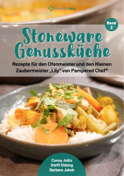 Cover: Stoneware Genussküche |Band 2 |Rezepte für den Ofenmeister und den Kleinen Zaubermeister