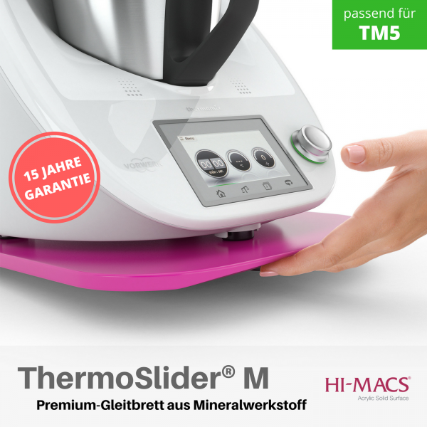 ThermoSlider® M |V1 | Festival Pink - | Premium-Gleitbrett für Thermomix TM6/TM5