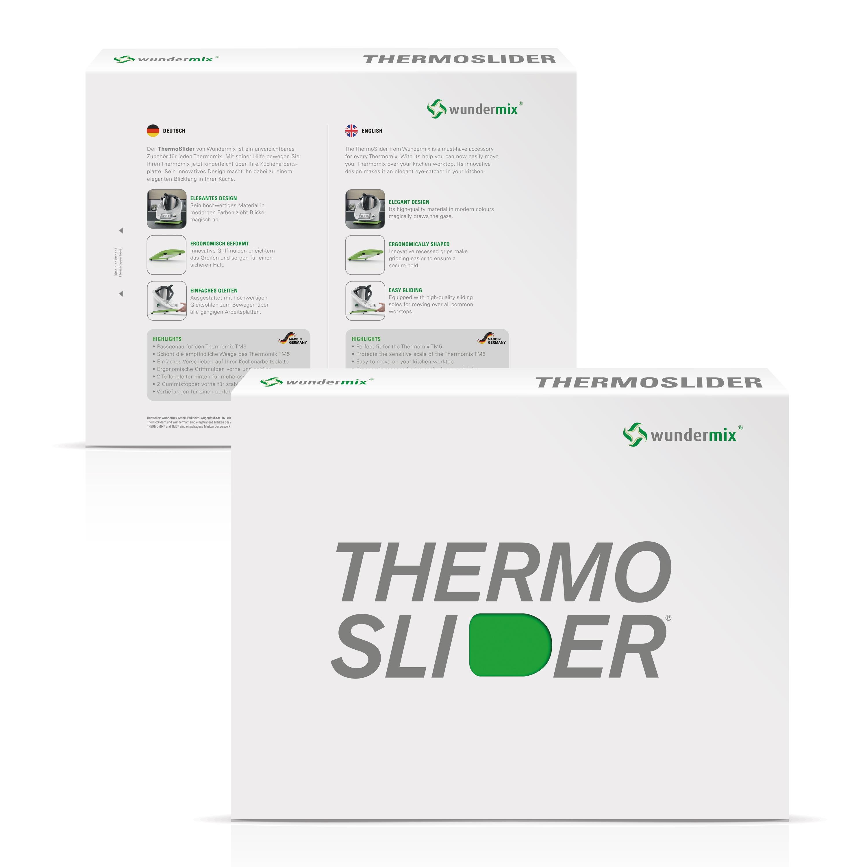Thermoslider M V2 Alpine White Premium Gleitbrett Für Thermomix Tm6tm5