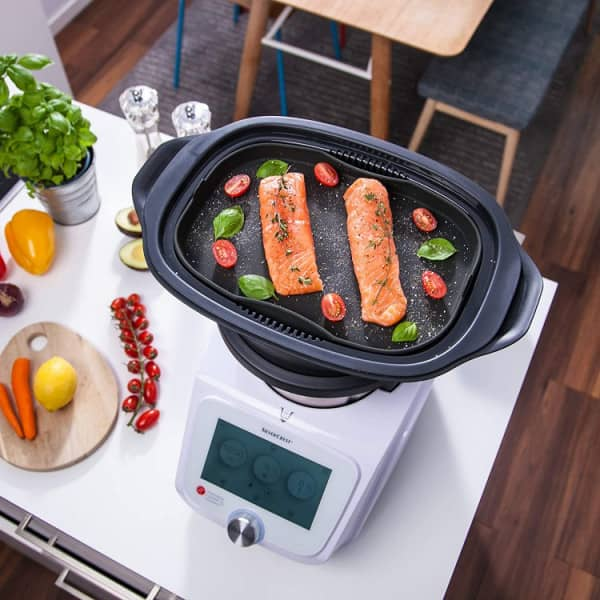 Silikon-Auflaufform für Monsieur Cuisine Connect + Edition Plus