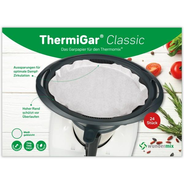 ThermiGar® Classic - Dampfgarpapier für Thermomix Varoma-Einlegeboden