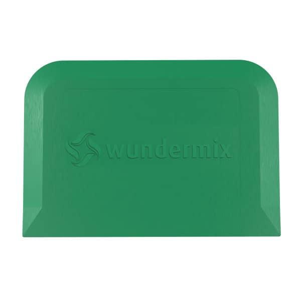 Teigschaberkarte «Wundermix»   13 x 9 cm   Farbe: grün