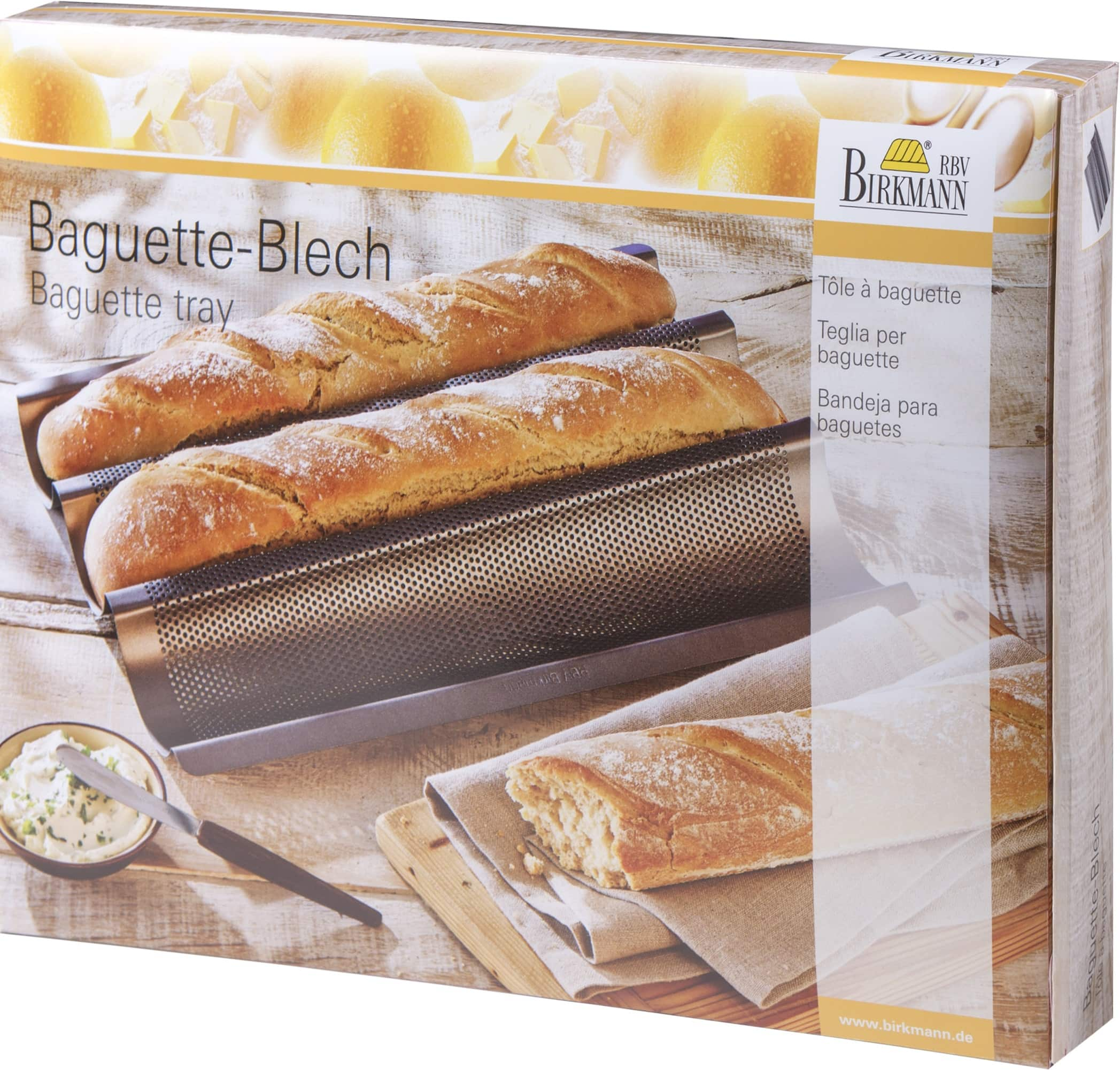 baguette blech backformen backen k chenutensilien der online shop f r. Black Bedroom Furniture Sets. Home Design Ideas