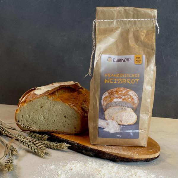 Brotbackmischung «Französisches Weißbrot» |1000g