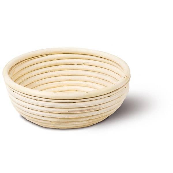 Gärkörbchen aus Peddigrohr | rund Ø 23 cm