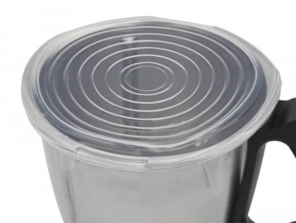 Silikon-Deckel ideal auch für Thermomix-Mixtopf, 7er-Set