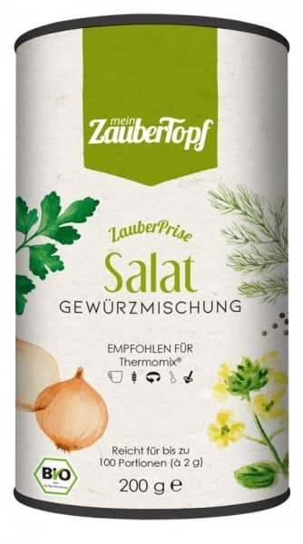 ZauberPrise «Salat» | Bio-Gewürzmischung für Thermomix | 200g