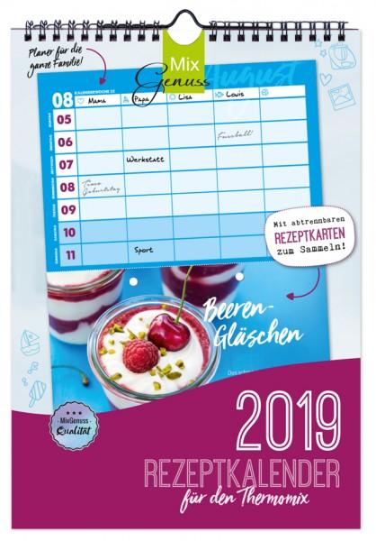 Rezeptkalender 2019 für den Thermomix